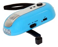 Wind Up Crank Radio / Flashlight