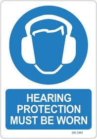 Hearing Protection Sign