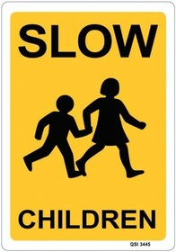 Slow - Children Sign