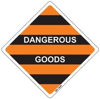Dangerous Goods Sign
