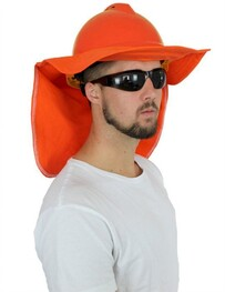Hard Hat Add On - Brim with Neck Flap