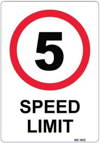 Custom Speed Limit Sign