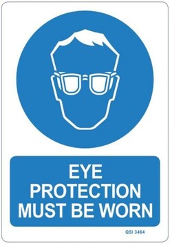 Eye Protection Sign